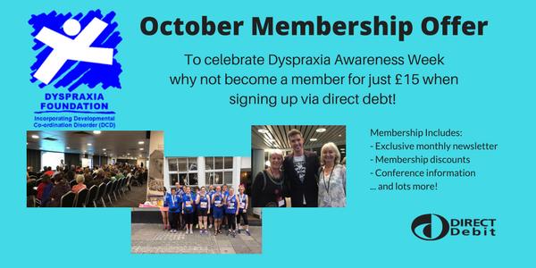 October Membership Offer!