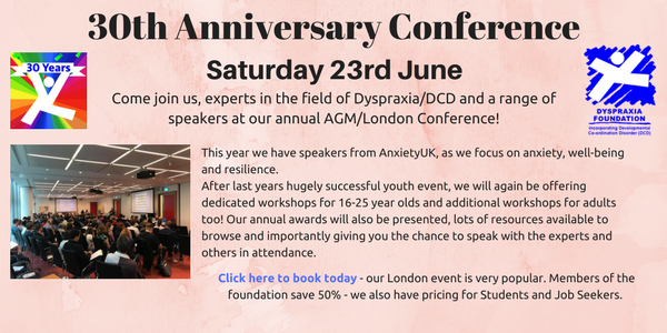 30th Anniversary – AGM/London Conference